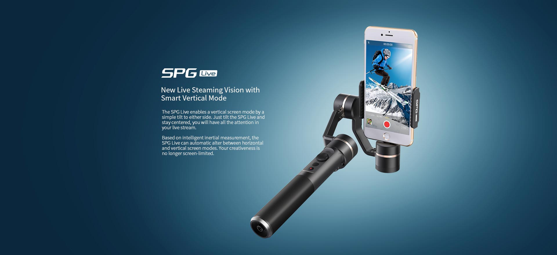 Feiyu Spg Live 3 Axis Handheld Gimbal For Iphone Steady Smartphones Extra Battrey